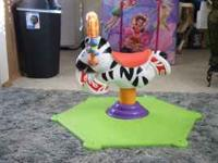 Bounce & Spin Zebra in great condition....my daughter