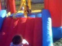 Little Tikes Children's Bounce House - it has an open