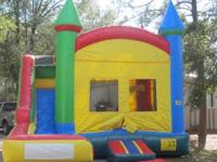 BOUNCE HOUSE WITH SLIDE USED AS A DRY SLIDE $175.00 FOR