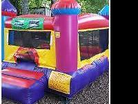 Hi There, We have bounce houses for RENT from $75.00 -