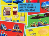 Bounce R Us PARTY RENTALS LLc Call or Text us anytime: