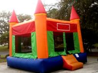 Make your party fun with a bounce house!  Jumpy Jump is