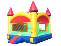 With BRAND NEW 15x15 HUGE Bounce Houses for only $85.00