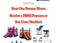 Bounce House - Jump Houses - Party Rentals - Tables and
