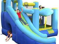 Bounce houses are great add ons to any party or family