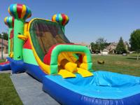 basic bounce home jumper $60. water moves 14' high, 18'