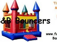 B&B Bouncers is a family owned company here to assist
