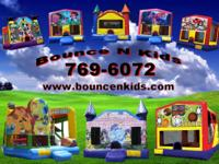 CLEANEST BOUNCE HOUSES IN TOWN!! RENTALS ALL DAY 15X15