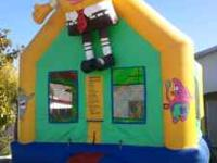 Large Bounce house for rent all day. $70 dollars. Fits