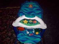 Fisher price aquarium bouncer. Call April @  Location: