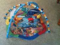 Baby Swing $40 Baby Gym (Dr. Einstein) $15 Bouncer Seat