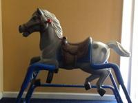 Flexible Flyer Rocking Spring Horse in good condition.