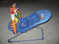 Fisher Price, Calming Vibrations Bouncy Seat, Plays