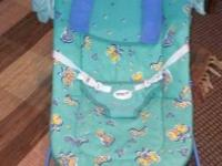 Vibrating Bouncy Seat - excellent used condition  $4.00