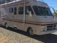 32 ft Class A Motorhome, 19,400 actual miles, one