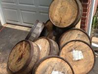I have several bourbon and whiskey barrels available