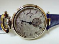 Bovet Amadeo Fleurier 43 with Meteorite dial. Limited
