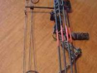 I am seeling my Parker Buckhunter Compound Bow, weight