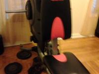 This bowflex is in very good condition. Only thing it