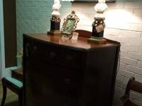 We are offering a walnut bowfront chest of drawers with