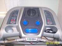 Bolwflexmodel 7 Treadmill, has the following