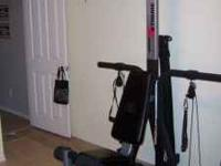 Bowflex machine, hardly used. Great condition and would