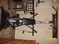 Bowflex Extreme. Like new. Buyer must be able to pick