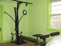 Selling bowflex it comes with the weights and bench
