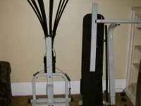 Great quality Bowflex. Contains all parts. Is easy to