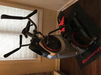 Selling my very gently used Bowflex Max Trainer M5.