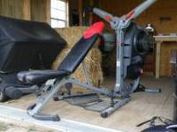 Up for sale is a complet Bowflex Reolution FT. IT comes