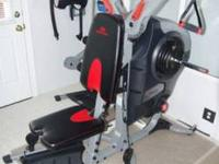This bowflex unit is complete, in great shape and has
