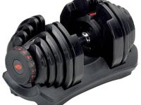 This is a Bowflex SelectTech 1090 Single dumbbell still