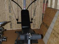 Bowflex Sport Rarely used. No missing parts. In