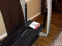 Bowflex treadclimber TC10 workout treadmill and