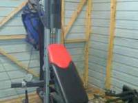 For sale is a Bowflex Ultimate 2 Home Gym with all