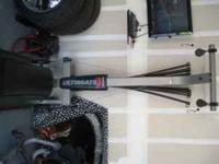 Bowflex Ultimate with extra 50lbs rods and leg