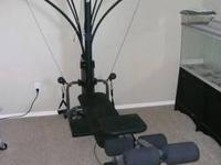 Original owner selling the bowflex xtl home workout