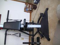 BOWFLEX EXTREME  GOOD CONDITION.  TAKING UP