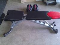 The Bench and the Dumbbells were purchased a year ago,
