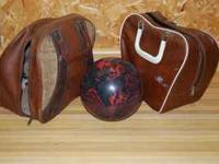 Bowling Ball and 2 bags $35.00 call  Location: Athens,