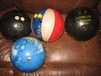 All in good condition.- 8 each- Unsure of the weights,