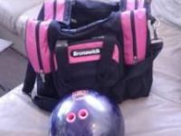 Bowling ball 11 lbs and weighted Call or text Rene:
