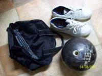 all brunswick-ball shoes(size 11) , bag. see pic. in