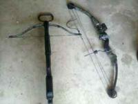 i have a crossbow for $50sold and a compound bow for