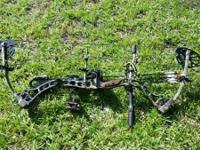 Bowtech Allegiance loaded and prepared to shoot. It is