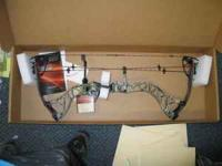 Brand New in Box with tags, Bowtech Destroyer 350 with