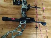 Bowtech Heartbreaker. Quiet and accurate, comes with