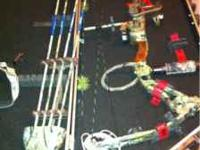 Bowtech Tribute, have 70# and 80# limbs. Comes ready to