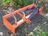 6' BOX BLADE GREAT CONDITION= 400.00 FIRM CALL JEFF @